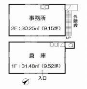 横浜市都筑区中川5-39-5(センター北駅)中川町倉庫